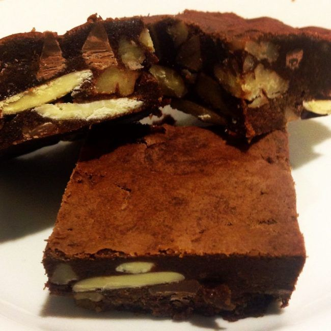 Recipe of the Month  - Triple Choc Brownies with Pecans