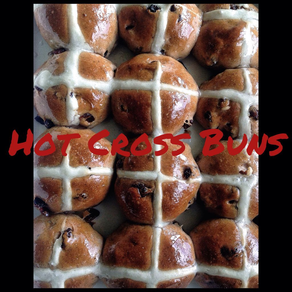 Hot Cross Buns (Thermomix Method Included)