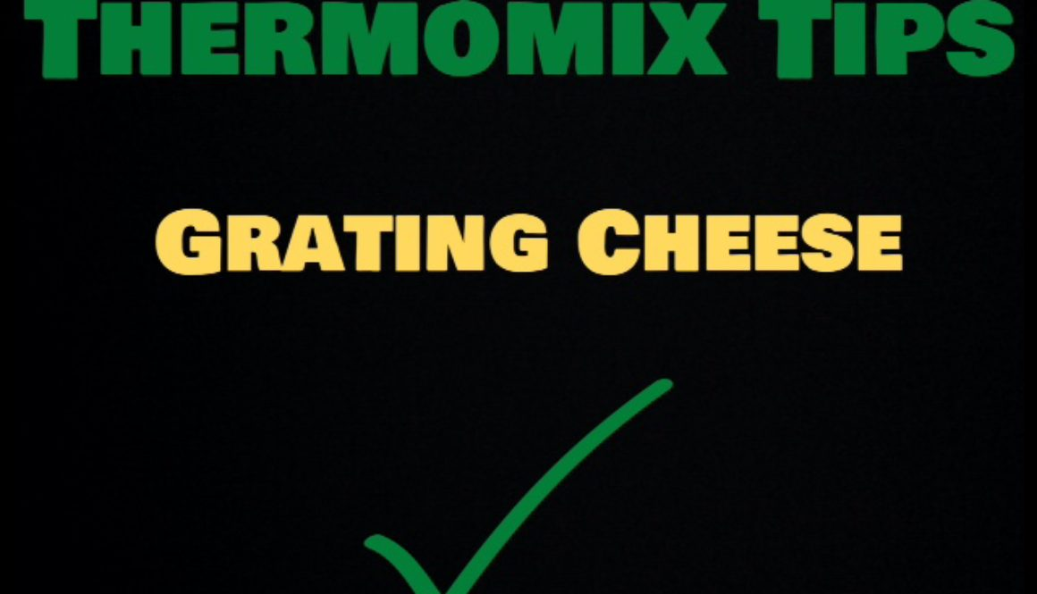 Thermomix Tips – Grating Cheese